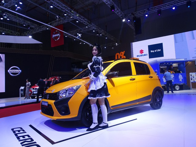 Ấn tượng Suzuki Celerio tại Vietnam Motor Show 2019 - Ảnh 4.