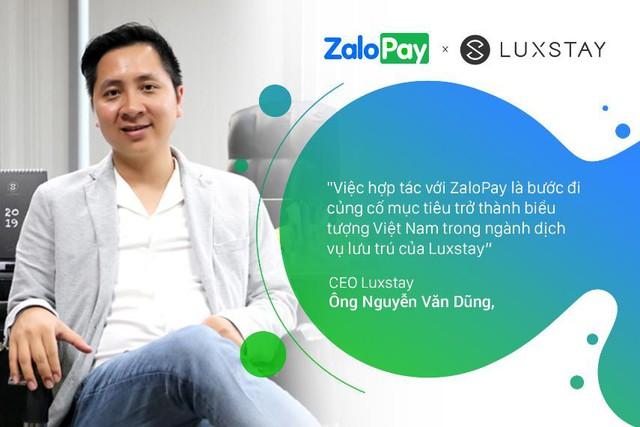 zalopay, luxstay - photo 2 15720577182121596115997 - ZaloPay và Luxstay hợp tác triển khai dịch vụ đặt và thanh toán homestay