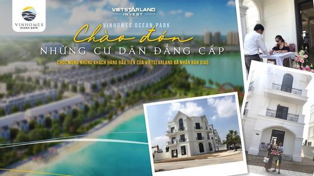 Vinhomes Ocean Park bàn giao biệt thự cho những khách hàng đầu tiên - Ảnh 1.