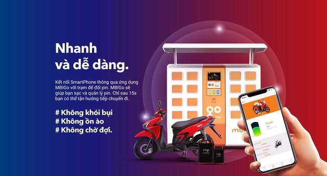 """Thời dùng xe máy điện như nạp tiền điện thoại: Chỉ mất """"tiền lẻ"""" hàng tháng để đổi pin - Ảnh 2."""