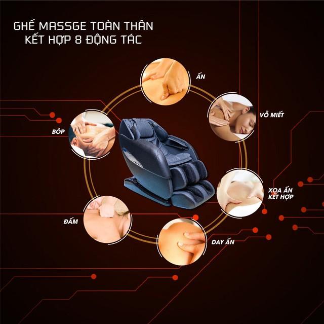 Okusaki tiên phong trong công nghệ ghế massage toàn thân - Ảnh 4.