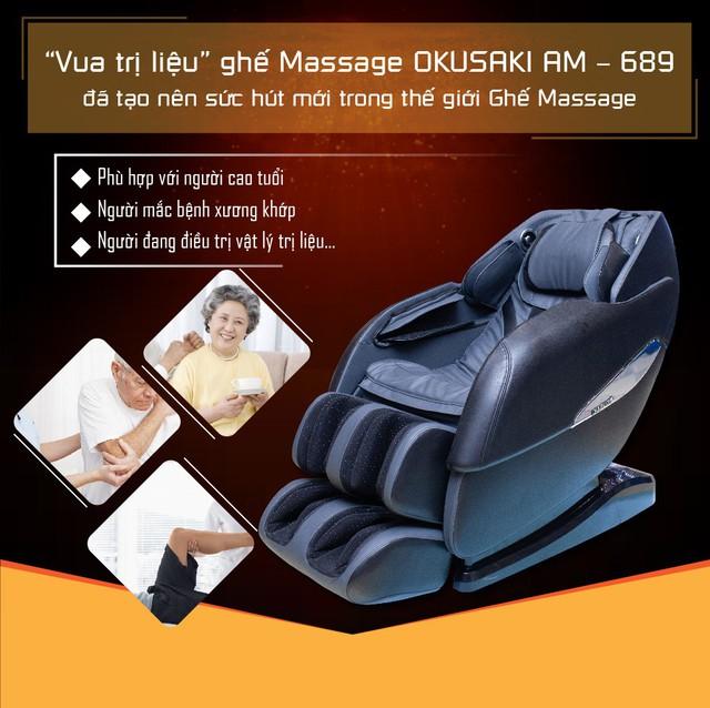 Okusaki tiên phong trong công nghệ ghế massage toàn thân - Ảnh 5.