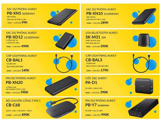 Tiki lần đầu tiên sale cùng Aukey, giảm giá tới 50%++ chỉ 3 ngày duy nhất - Ảnh 5.