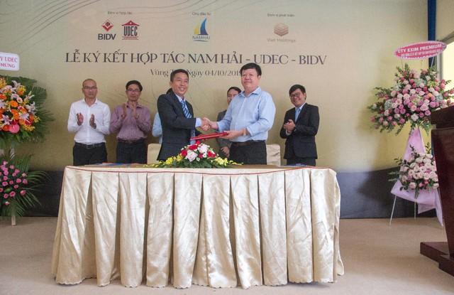 Nhiều đối tác cùng triển khai phát triển khu đô thị sinh thái Marine City - Ảnh 1.