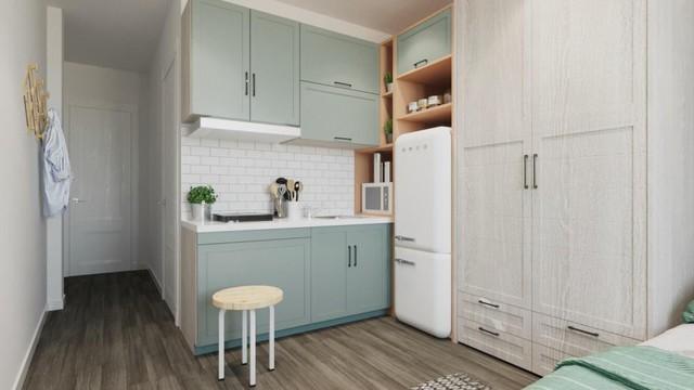 5 kiểu căn hộ mini hiện đại nhìn là thích ngay - Ảnh 9.