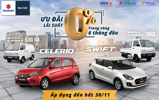 Cơ hội vàng rước ô tô Suzuki trước tết nguyên đán với ưu đãi lên đến 30 triệu - Ảnh 1.