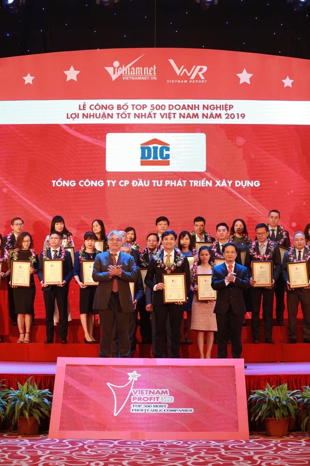 Tập đoàn DIC đạt Top 500 doanh nghiệp lợi nhuận tốt nhất Việt Nam năm 2019 - Ảnh 1.