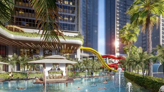 Những dự án sở hữu không gian sống như resort nghỉ dưỡng giữa Sài Gòn - Ảnh 1.