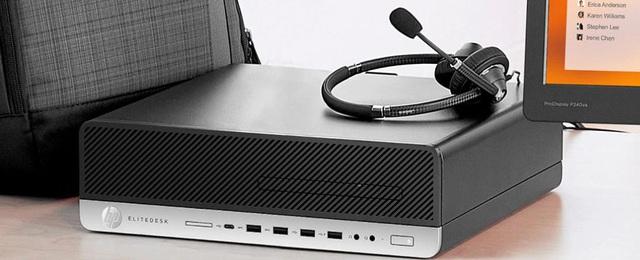 HP ELITEDESK 800 G5 SFF - PC siêu nhỏ gọn cho văn phòng hiện đại - Ảnh 2.