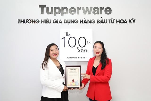Dấu ấn 100 cửa hàng Tupperware tại Việt Nam - Ảnh 1.