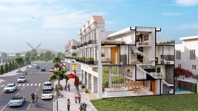 Nhà phố thương mại Nghĩa Hành New Center - Điểm sáng cho thị trường BĐS Quảng Ngãi - Ảnh 1.