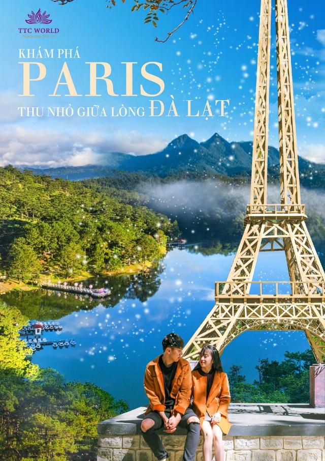 Khám phá Paris thu nhỏ giữa lòng Đà Lạt - Ảnh 1.
