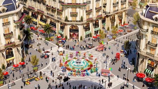 Khám phá khu mua sắm của phố đi bộ thương mại Royal Vạn Phúc - Ảnh 1.