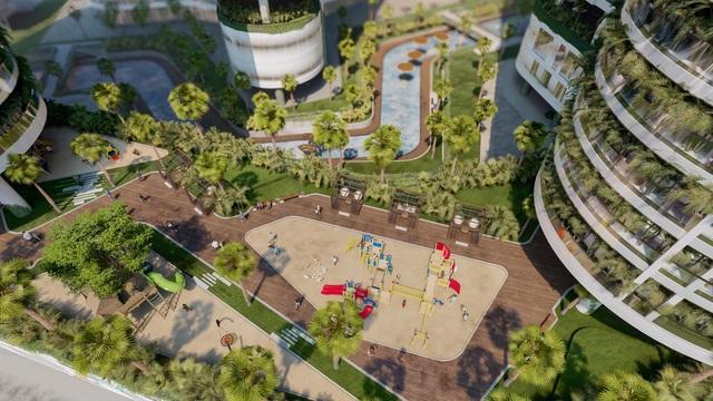 """Khu giải trí cho trẻ em rộng gần 6.000 m2 tại tổ hợp """"Wellness & Fresh"""" resort giữa Quận 7 - Ảnh 1."""