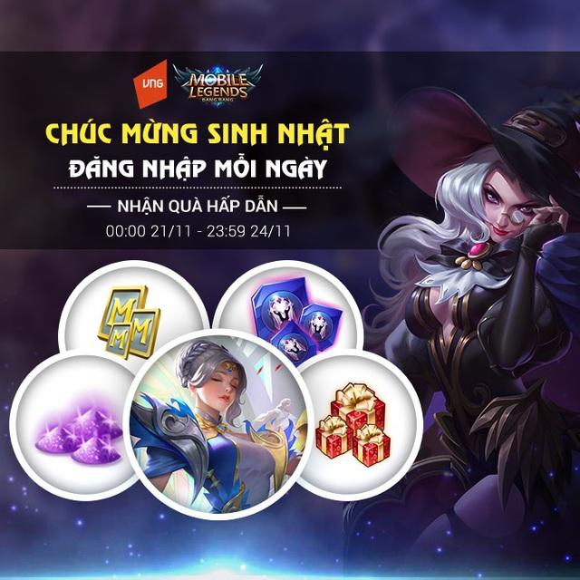 Game thủ chúc mừng sinh nhật Mobile Legends: Bang Bang VNG - Ảnh 5.