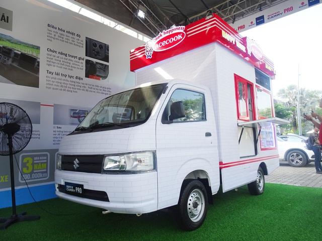 Suzuki Super Carry Pro giá chỉ từ 299 triệu đồng - Shop di động mới cho start-up Việt - Ảnh 1.