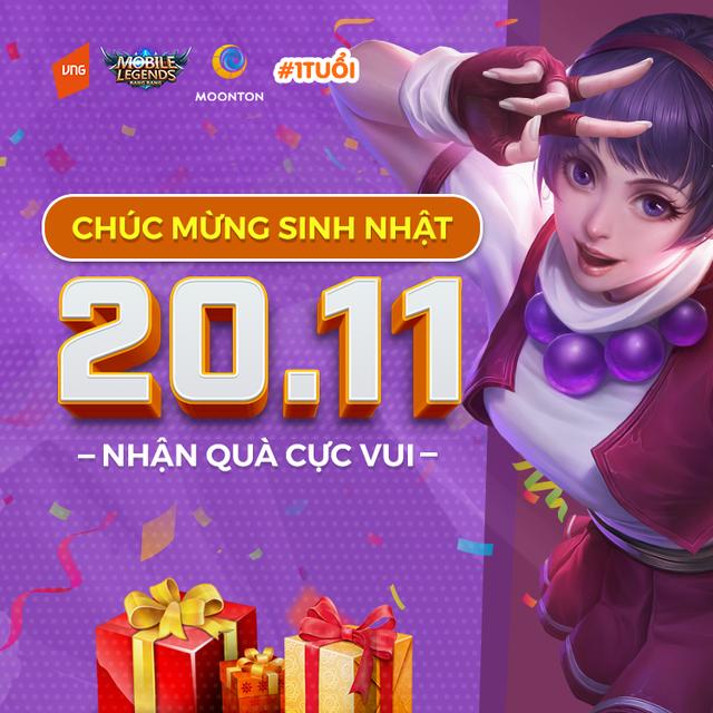 Game thủ chúc mừng sinh nhật Mobile Legends: Bang Bang VNG - Ảnh 3.