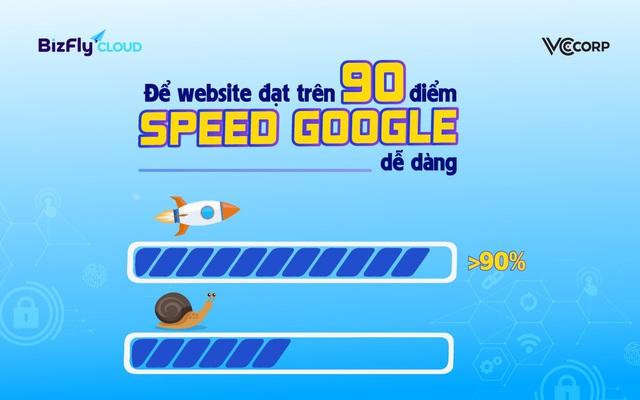 Để website đạt trên 90 điểm Google PageSpeed dễ dàng - Ảnh 1.