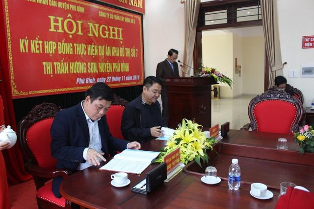 Vinaconex triển khai dự án nhà ở liền kề tại huyện Phú Bình, tỉnh Thái Nguyên - Ảnh 1.
