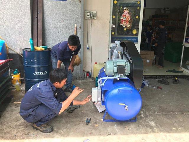 Kinh nghiệm chọn mua máy nén khí cho trạm rửa xe - Ảnh 2.