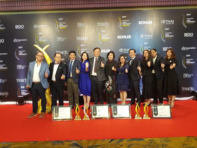 """Kiến Á được vinh danh """"Best of the best"""" tại Asia Property Awards 2019 - Ảnh 1."""