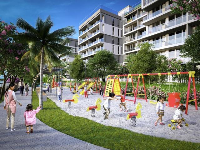 Dự án căn hộ hạng sang sở hữu diện tích vui chơi bình quân/trẻ em lớn bậc nhất TP.HCM - Ảnh 2.