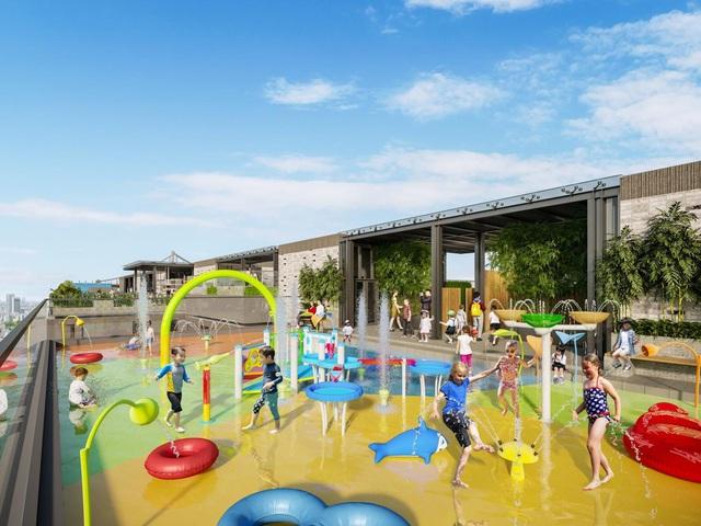 Dự án căn hộ hạng sang sở hữu diện tích vui chơi bình quân/trẻ em lớn bậc nhất TP.HCM - Ảnh 3.