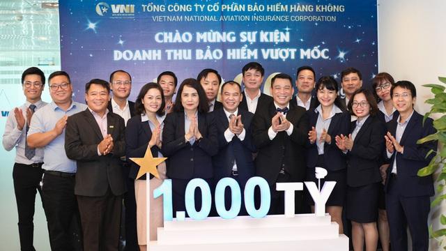 Bảo hiểm hàng không (VNI): Doanh thu bảo hiểm vượt mốc 1.000 tỷ - Ảnh 2.