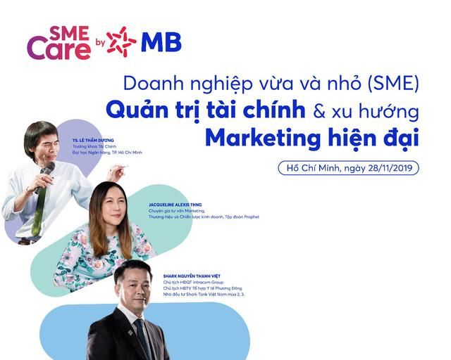 MB tổ chức Tọa đàm Doanh nghiệp vừa và nhỏ (SME)-Quản trị tài chính và Xu hướng marketing hiện đại - Ảnh 1.