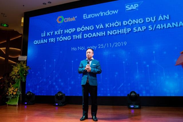 CITEK và Eurowindow khởi động dự án SAP S/4HANA hướng đến xây dựng doanh nghiệp số thông minh trong quản trị và điều hành - Ảnh 1.
