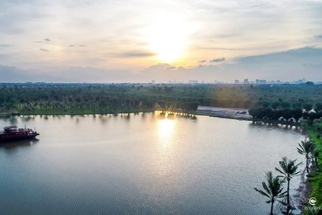 Không gian mặt nước đẳng cấp của biệt thự đảo Ecopark Grand - The Island - Ảnh 4.