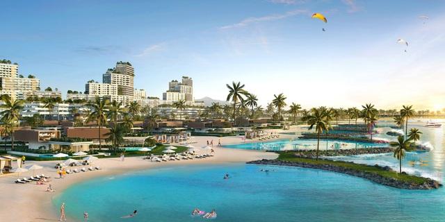 Không cần đến Hawaii, khu vực Phan Thiết sắp ra mắt bãi biển Lagoona 10ha - Ảnh 2.