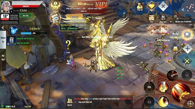 Ngợp trời cánh thiên thần chỉ vài giờ sau khi Thiên Sứ Mobile ra mắt - Ảnh 4.