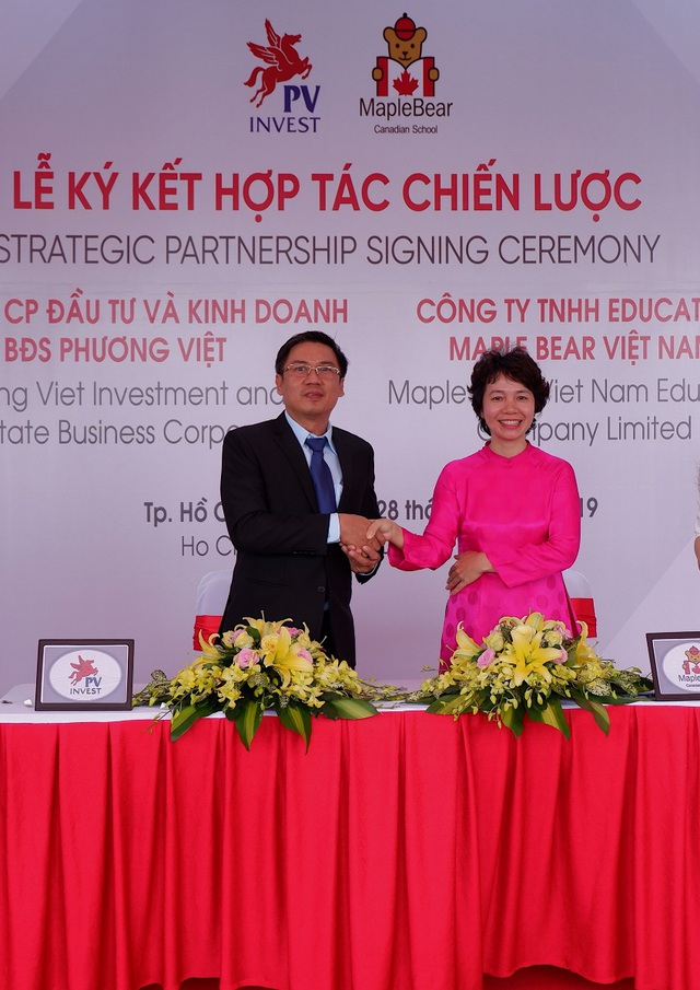 Maple Bear Việt Nam bắt tay PVInvest: Giáo dục đồng hành với bất động sản kiến tạo nên môi trường chuẩn toàn diện - Ảnh 1.