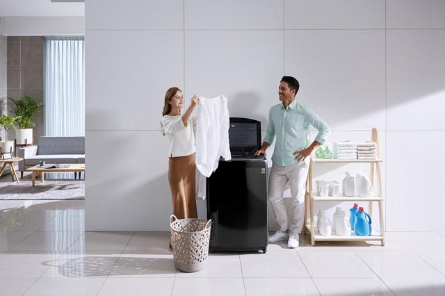 Máy giặt cho gia đình nhiều thế hệ - điểm nhấn mới của LG - Ảnh 1.