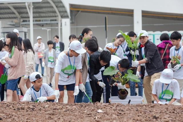 Trung tâm thương mại Nhật Bản có quy mô hàng đầu Hà Nội chính thức khai trương với chiến lược sống xanh - Ảnh 5.