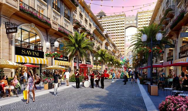 Lộ diện phố thương mại phong cách châu Âu tại khu Đông, TP Hồ Chí Minh - Ảnh 1.