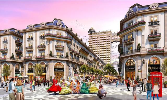 Lộ diện phố thương mại phong cách châu Âu tại khu Đông, TP Hồ Chí Minh - Ảnh 2.