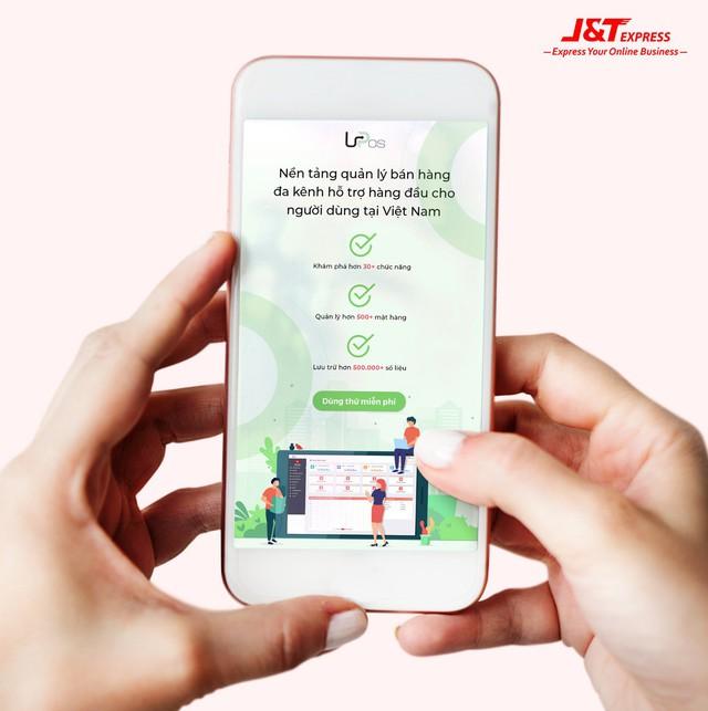 j&t express - photo 1 15729408384161510158522 - J&T Express ứng dụng công nghệ phần mềm Upos vào chuyển phát nhanh