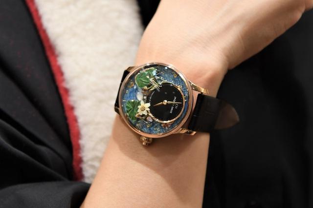 Jaquet Droz ra mắt đồng hồ Vịnh Hạ Long độc bản tại workshop nghệ thuật tiểu họa - Ảnh 2.