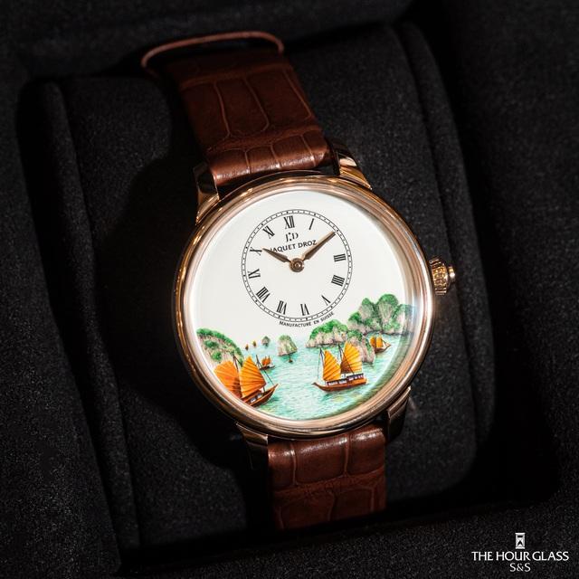 Jaquet Droz ra mắt đồng hồ Vịnh Hạ Long độc bản tại workshop nghệ thuật tiểu họa - Ảnh 4.