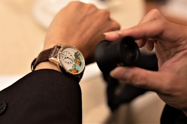 Jaquet Droz ra mắt đồng hồ Vịnh Hạ Long độc bản tại workshop nghệ thuật tiểu họa - Ảnh 6.
