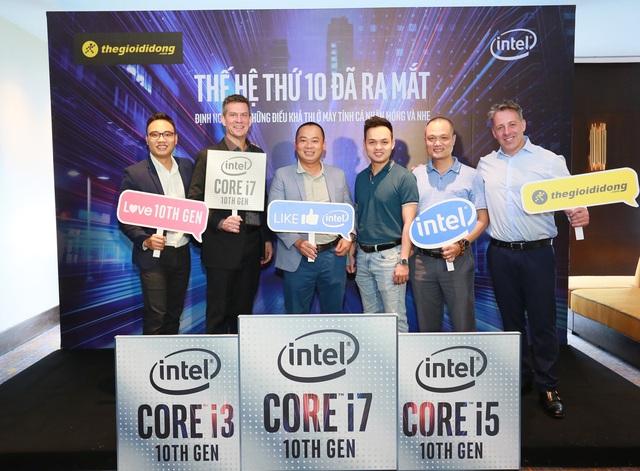 """Thế Giới Di Động """"bắt tay"""" Intel khuấy động thị trường laptop với Core i thế hệ 10 - Ảnh 1."""