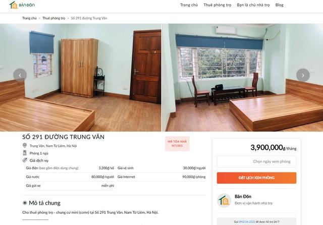 """Startup """"giải quyết khó khăn đi thuê & cho thuê nhà trọ - Ảnh 1."""
