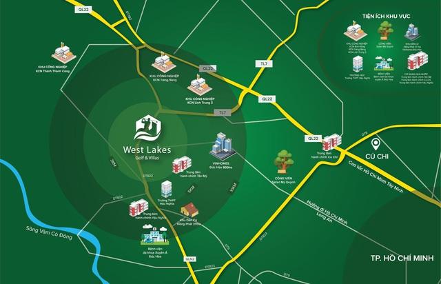 West Lakes Golf & Villas: Xu hướng nghỉ dưỡng khoảng cách gần và điểm đến Long An - Ảnh 1.