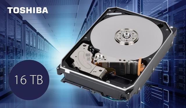 Toshiba công bố hàng loạt ổ cứng dung lượng đến 16TB - Ảnh 1.