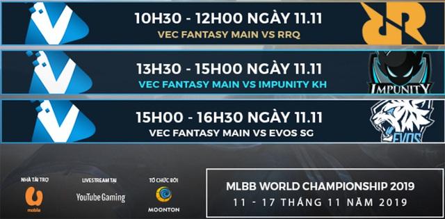 Gặp gỡ VEC Fantasy Main trước ngày khai trận giải Mobile Legends: Bang Bang World Championship 2019 – M1 - Ảnh 2.