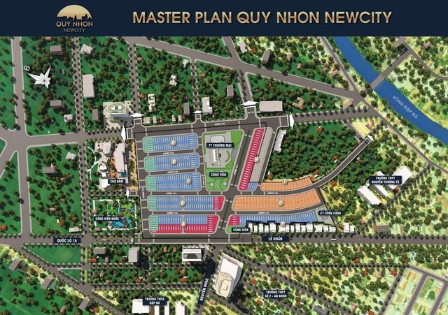 Quy Nhơn New City giai đoạn 2 ra mắt phân khu đẹp dự án   - Ảnh 1.