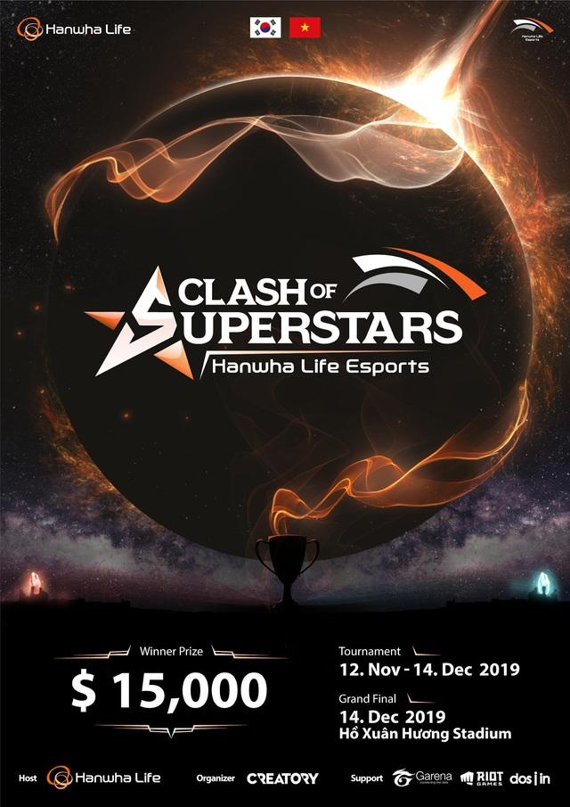 16 streamer hàng đầu và loạt game thủ nổi tiếng Việt Nam tranh tài tại giải đấu Hanwha Life Esports - Ảnh 1.