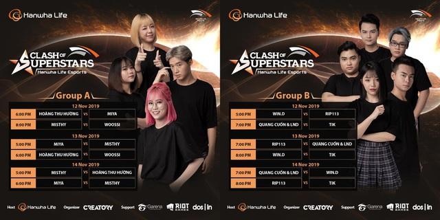 16 streamer hàng đầu và loạt game thủ nổi tiếng Việt Nam tranh tài tại giải đấu Hanwha Life Esports - Ảnh 2.